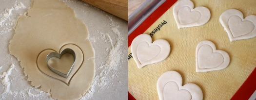 Decorating Heart Shaped Sugar Cookies | Make and Takes