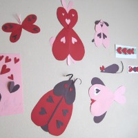 Heart Shaped Animal Crafts