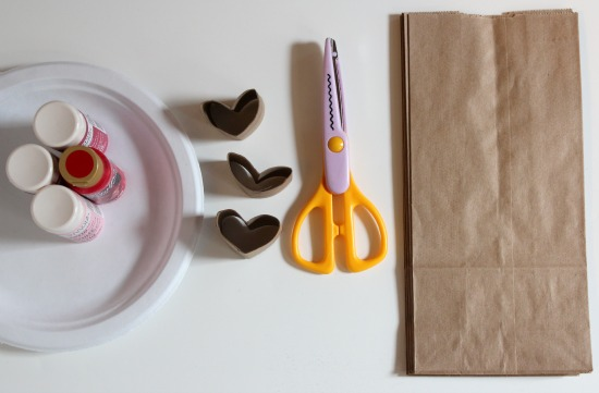 Heart Shaped Paper Tube Supplies