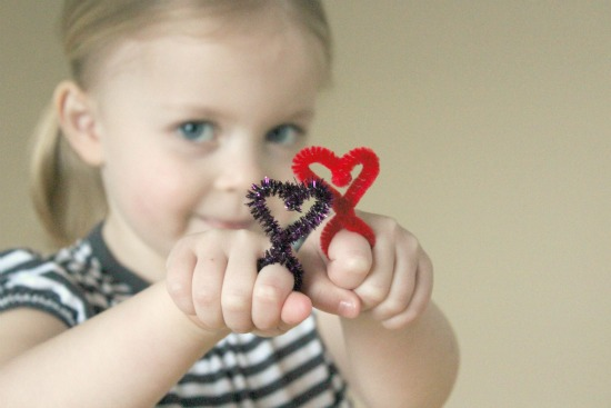 Heart Shaped Rings for Kids