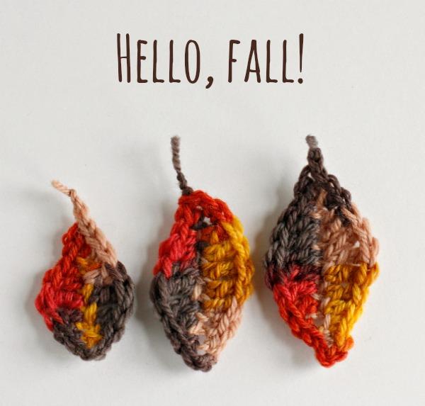 Hello, Fall - Crochet Leaf Pattern