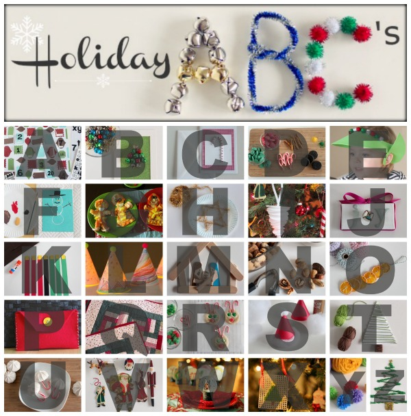Holiday ABC Series at makeandtakes.com
