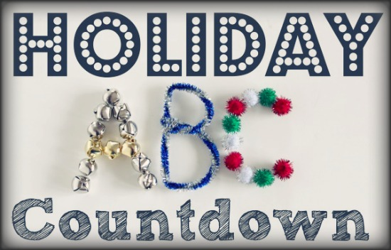 Holiday ABC Countdown @ makeandtakes.com