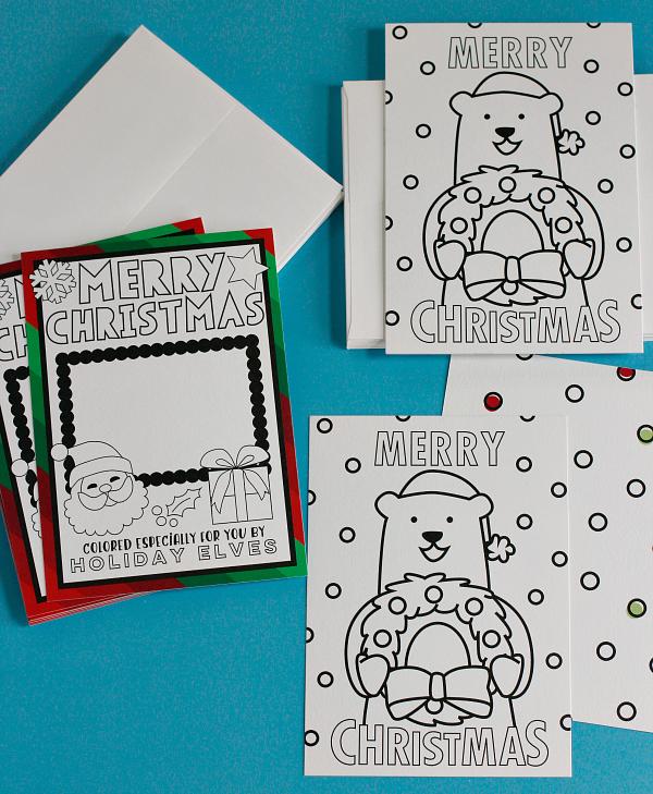 holiday-card-making-supplies