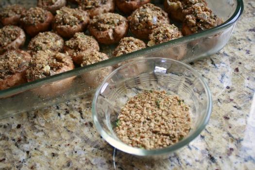 Homemade Breadcrumbs for Mushrooms