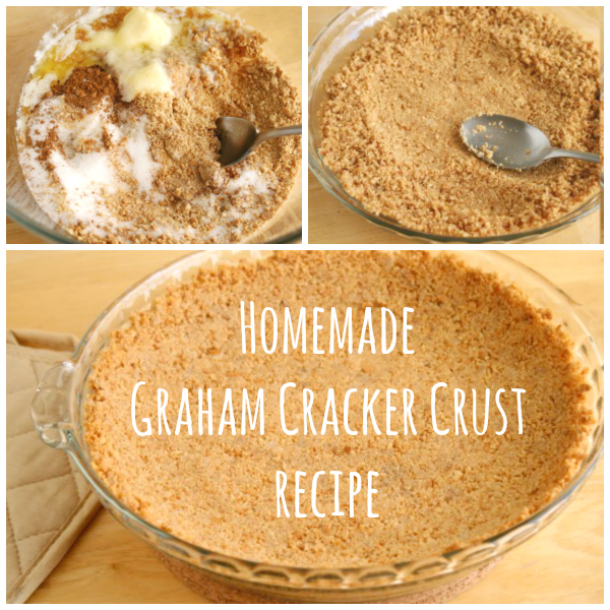 Easy Homemade Graham Cracker Crust Recipe