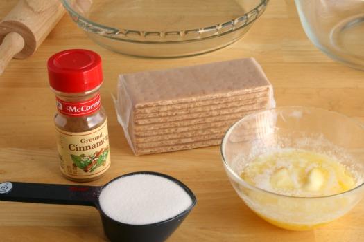 Homemade Graham Cracker Crust Ingredients