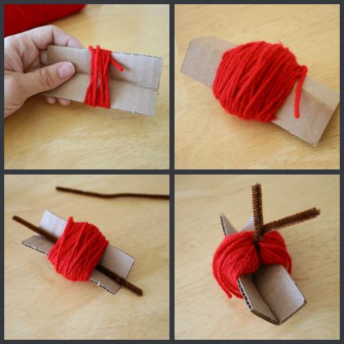 How To Apple Yarn Craft