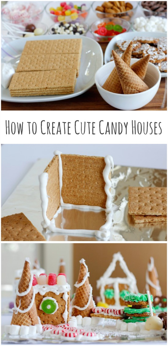 How to Create Cute Candy Houses Craft