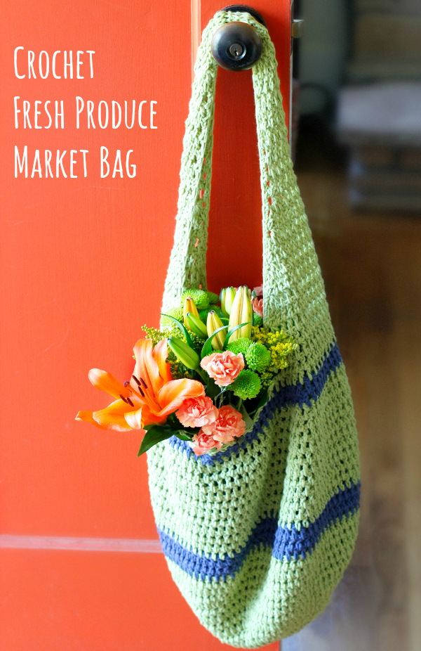 Crochet Fresh Market Bag