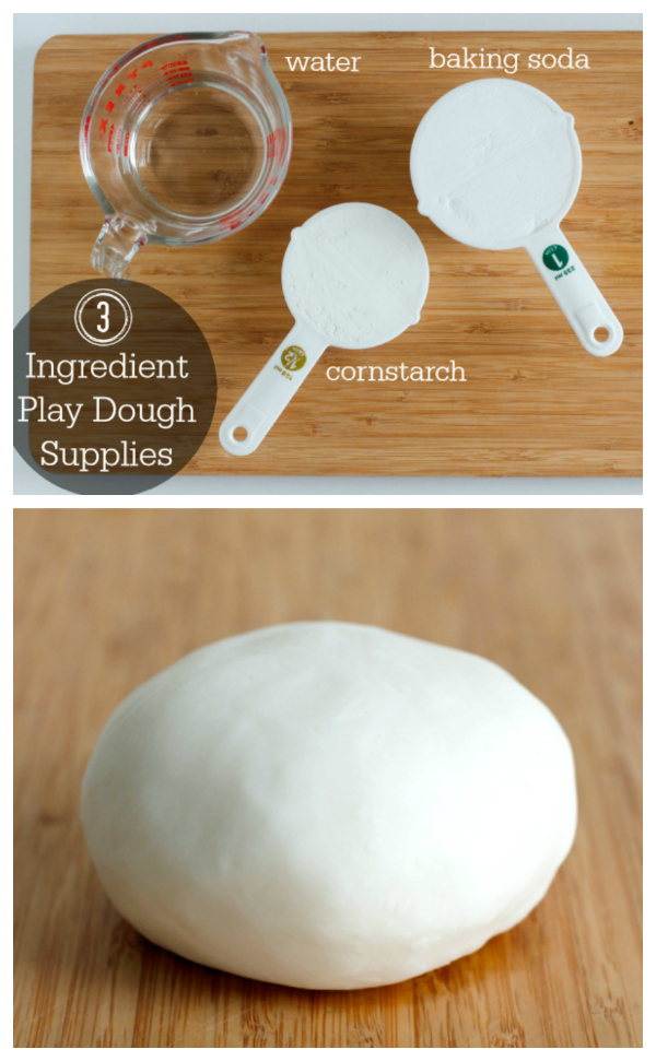 How to Make 3 Ingredient Play Dough, Super Simple!