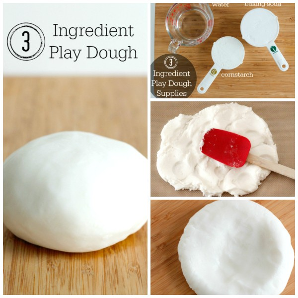 How to Make 3 Ingredient Play Dough for Kids