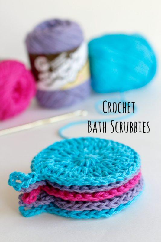 Crochet Bath Scrubbies