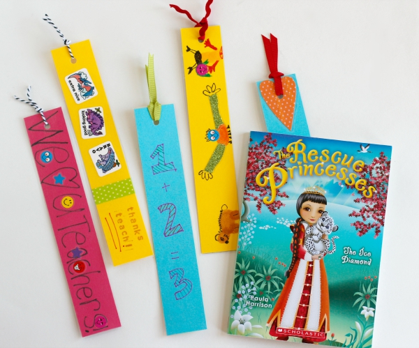 How to Make DIY Bookmarks for Teacher