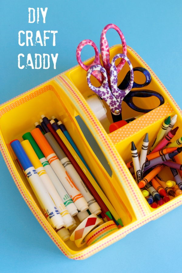 Back to School DIY Craft Caddy