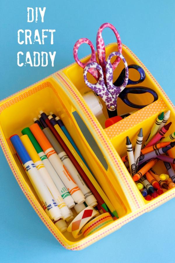 How to Make a DIY Craft Caddy