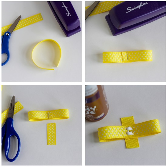 How to Make a Ribbon Hair Bow