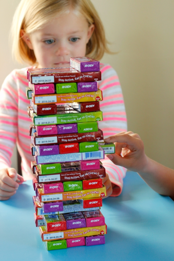 How to Play Jenga with Hi-Chew Candy