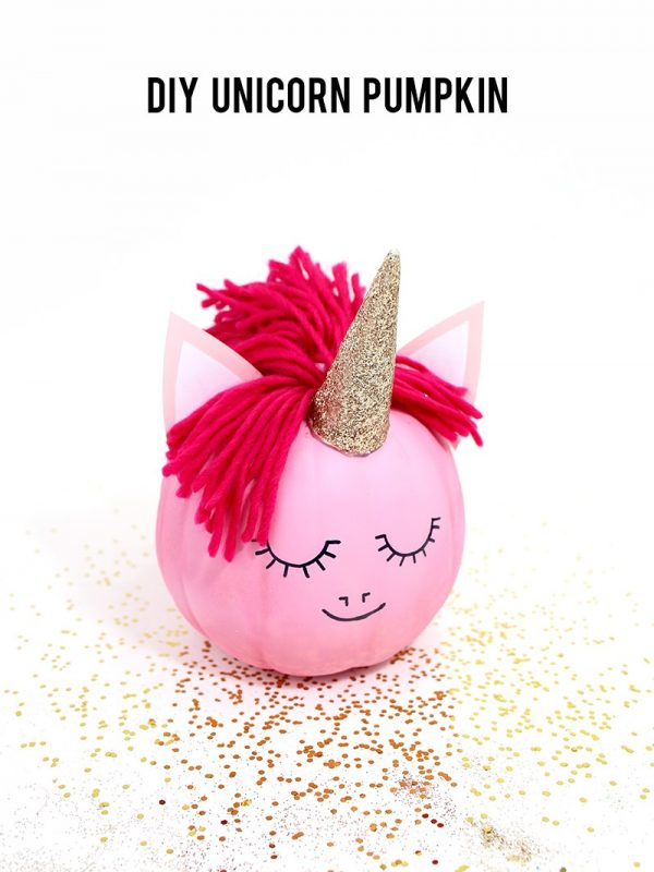 How to Make a Unicorn Pumpkin