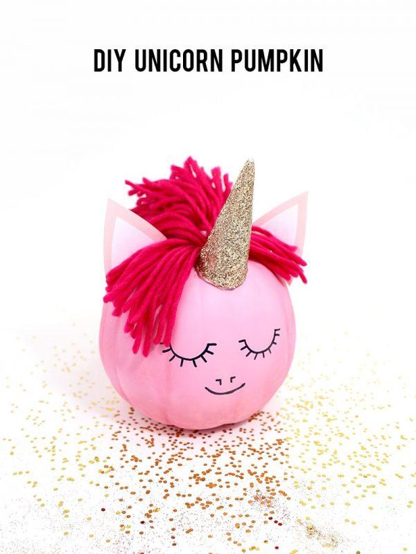 How to Make a Unicorn Pumpkin