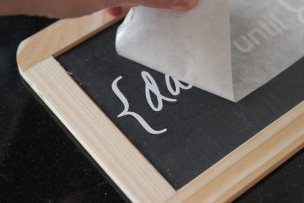 sticker for chalkboard