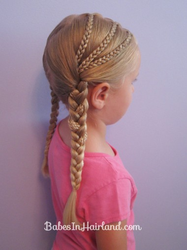 Triple Pocahontas Braid