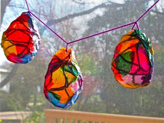 Egg Shaped Lanterns