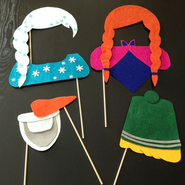 Frozen Party Photo Booth Props