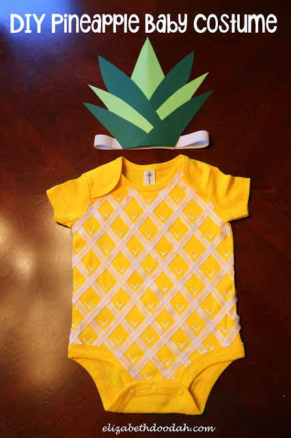 Pineapple Baby Costume