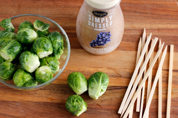 Ingredients for Grilled Brussel Sprouts