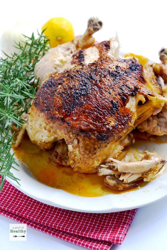 Instant Pot Whole Rotisserie Chicken