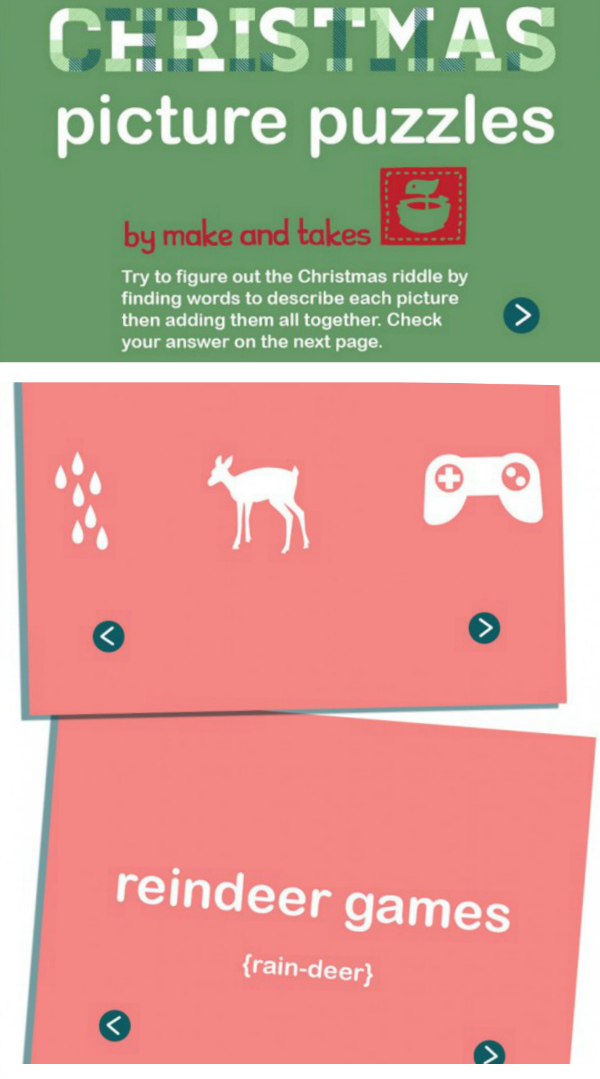 Interactive Christmas Picture Puzzles PDF