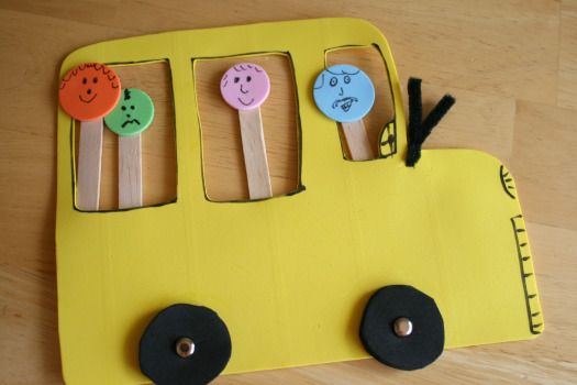 Kid Craft School Bus 9 back to school projects for kids