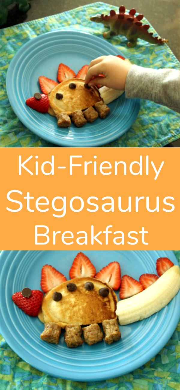 Kid-Friendly Stegosaurus Breakfast