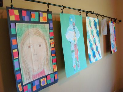 5 Ways To Organize And Display Your Child S Artwork Make