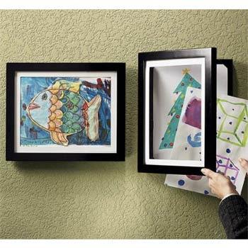 Kid's Art Framed