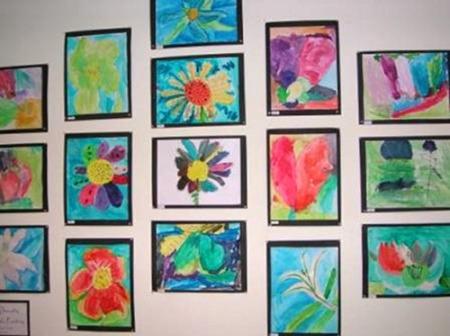 Kids-Artwork-Framed