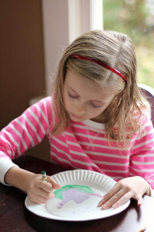 Kids Coloring Free Birds Hand Turkeys makeandtakes.com
