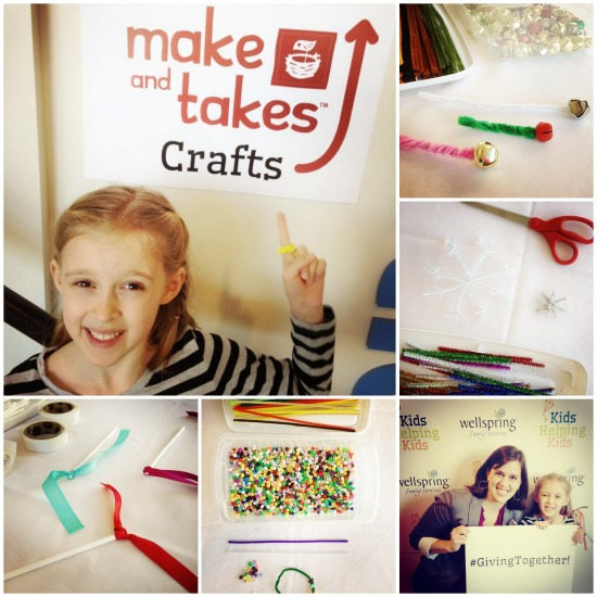 Kids Craft Event at @Wellspring_FS @makeandtakes.com