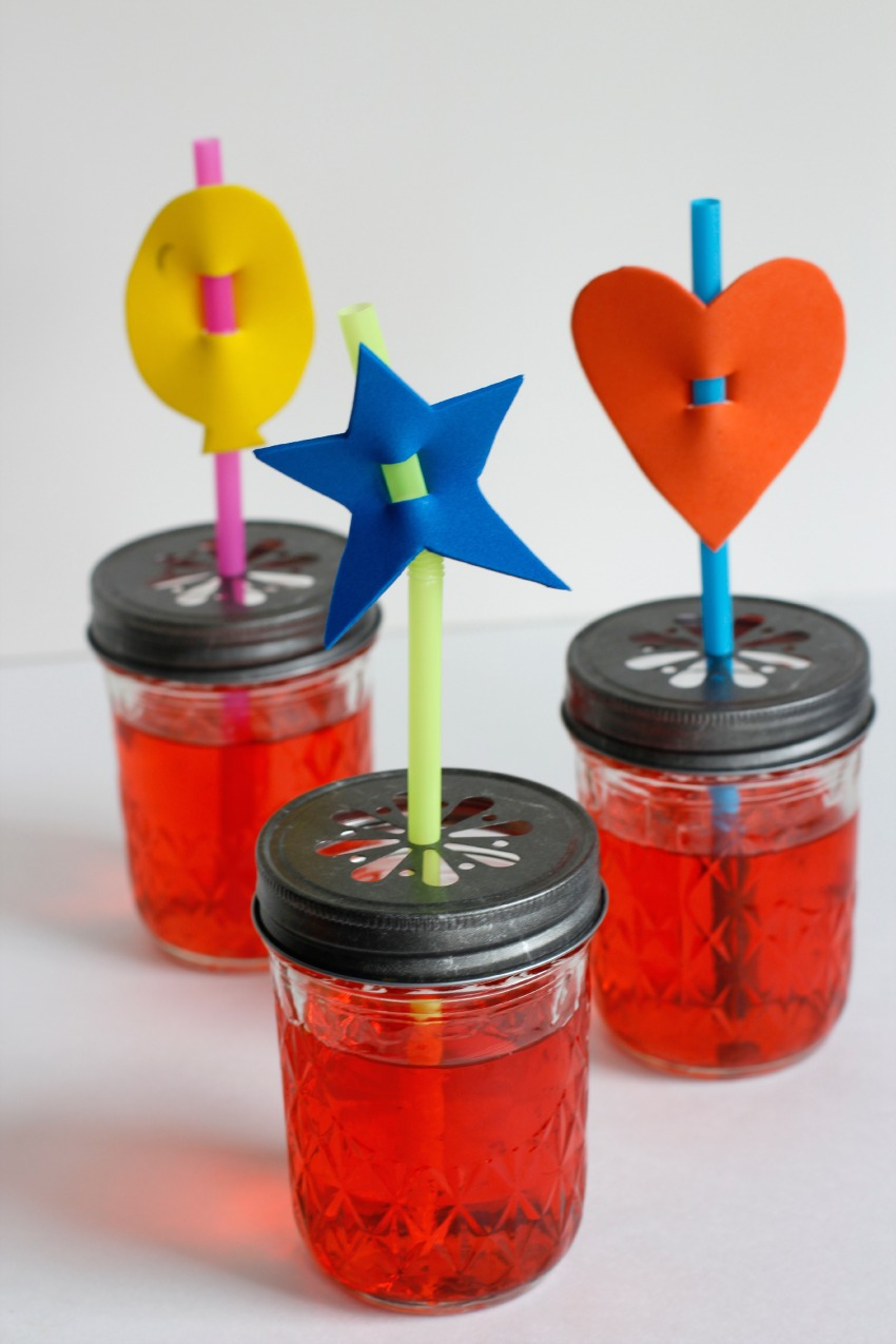 Kids Craft Silly Straw Sippers
