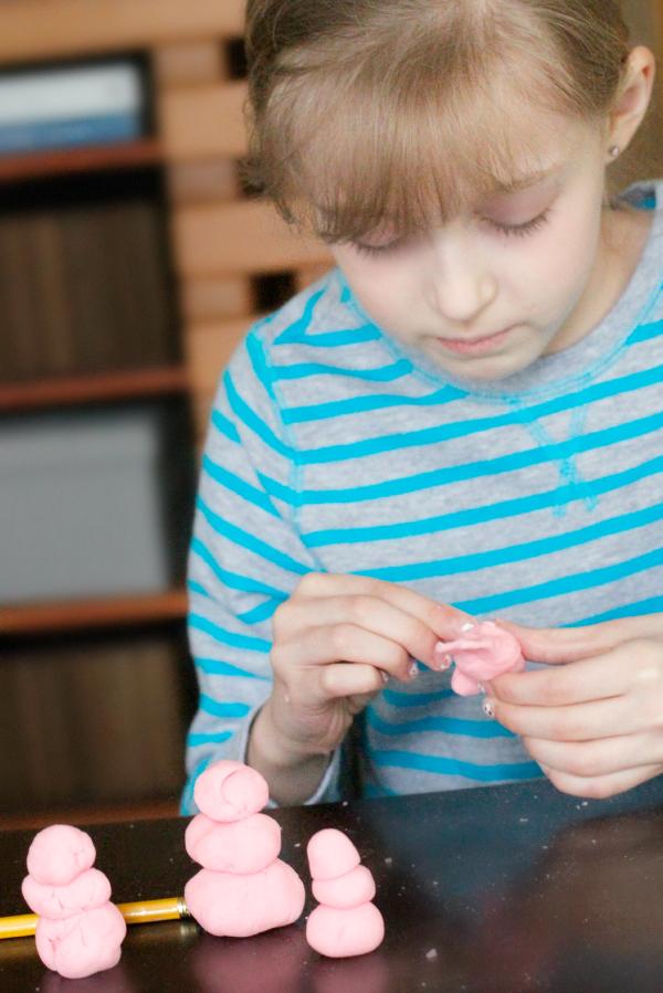 Kids Peppermint Play Dough