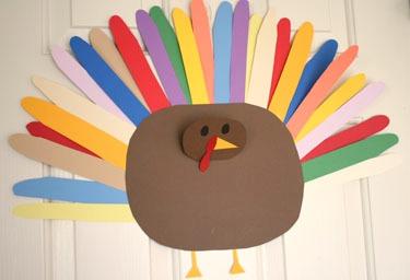 Kids Thanksgiving Day Craft