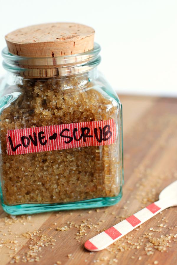 LOVE Sugar Scrub Recipe