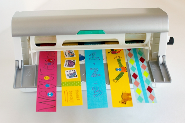 Laminating Bookmarks with a Xyron Creative Station