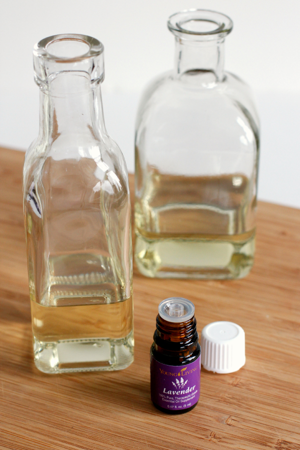 Lavender Essential Oils for DIY Reed Diffuser