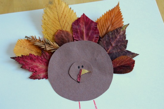 Crafts with Fallen Leaves