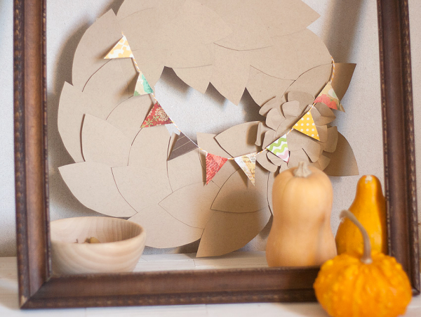 Leafy Fall Wreath by Francine Clouden at Make & Takes-12