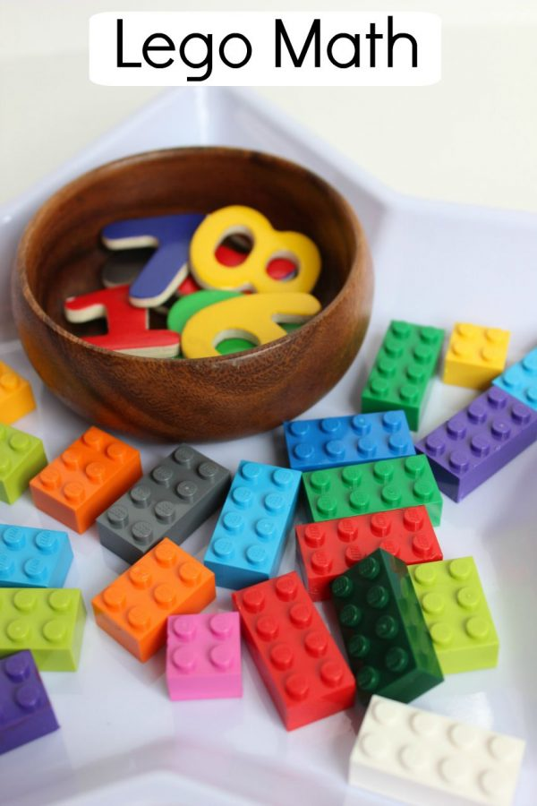 Lego Math Activity Idea for Kids