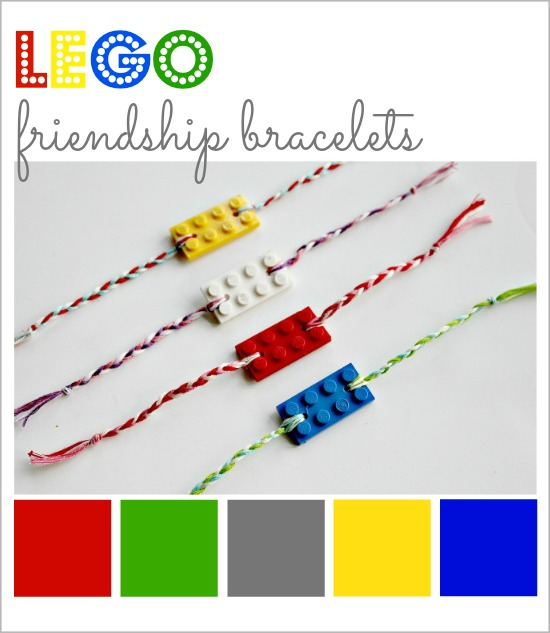Lego friendship bracelets