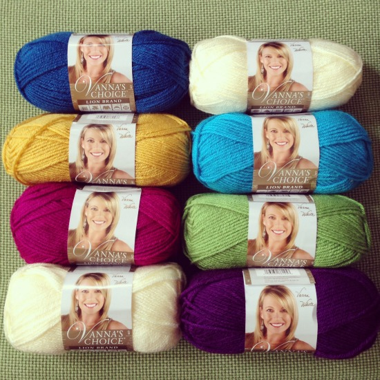 Lion Brand Yarn Vanna's Choice